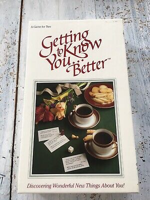 Getting To Know You Better Couples Card Board Game For Two 90s Popular (Best Couple Card Games)