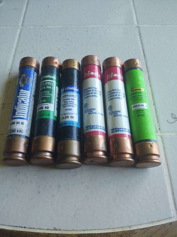 Assortment Of Electrical Fuses