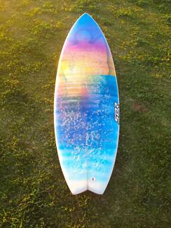 """6""""4 Surfboard Trigg Stirling Area Preview"""