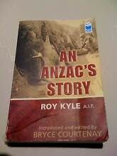 BOOK/AN ANZAC'S STORY/ROY KYLE/A.I.F./AUTOBIOGRAPHY South Perth South Perth Area Preview