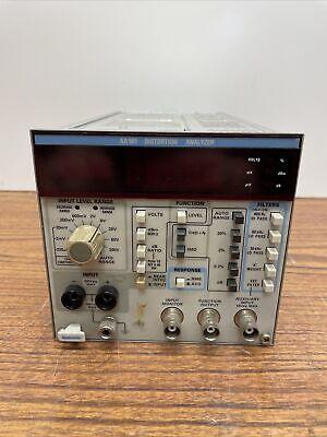 Tektronix Aa501 Distortion Analyzer Plug-in W Option 01 Imd