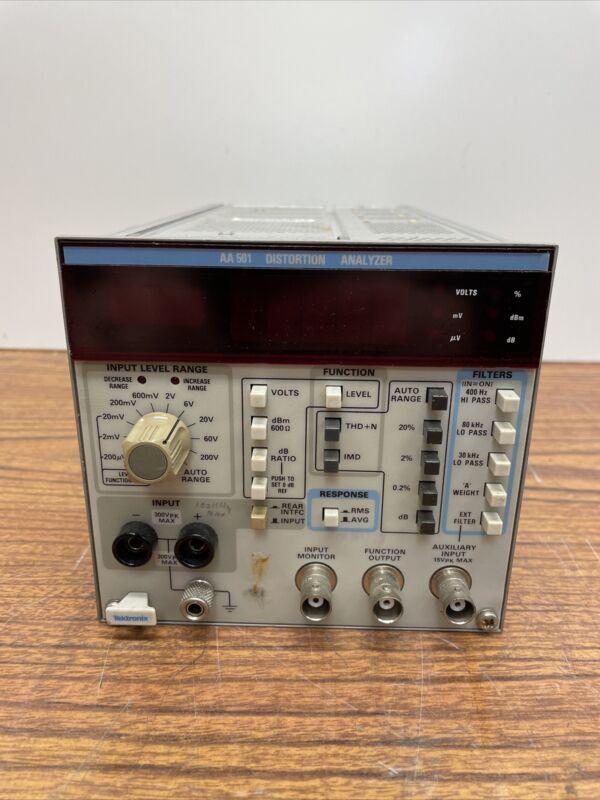 Tektronix AA501 Distortion Analyzer Plug-In w/ Option 01 IMD