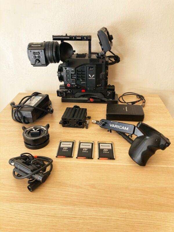 Complete Panasonic Varicam LT 4k Camera Package - EF & PL