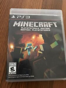 Minecraft and Little BIG Planet PS3 games @5.00 each