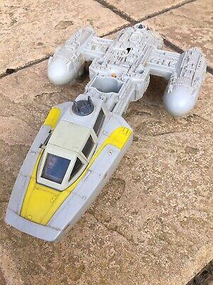 Vintage Star Wars Y-Wing Working Electrics And Landing Gear