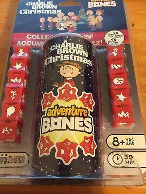 A Charlie Brown Christmas Adventure Bones Dice Game NIP ()