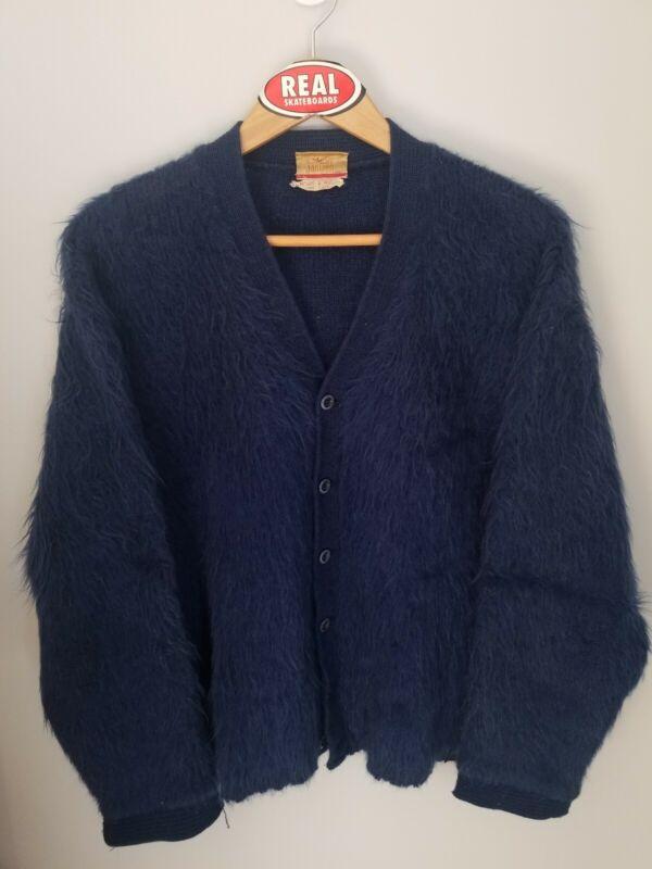 Vintage Jantzen Mohair Cardigan Cobain Sweater Men