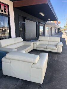 6-7 Seats Genuine Leather Lounge!!