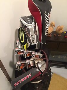 RH -  Cobra, Titleist, TaylorMade. Complete golf set!