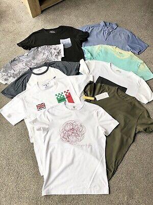 Mens Clothes Bundle Small T Shirt Tops Holister River Island Abercrombie H&M Etc