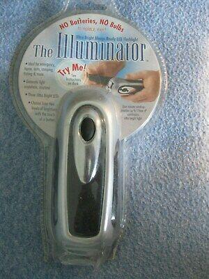 The Illuminator LED Wind-Up Flashlight== BRANDNew IN SEALED PACKAGE==FREE -