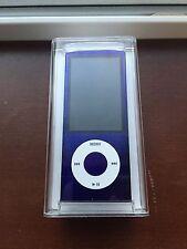 Apple 8GB iPod Nano 5th Generation Purple Camera A1320