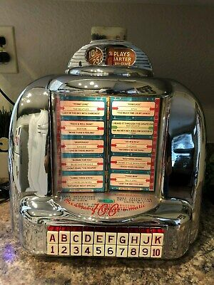 WORKING Vtg SEEBURG 3W1 Jukebox Wallbox With IPOD, Adapter and Speakers!!
