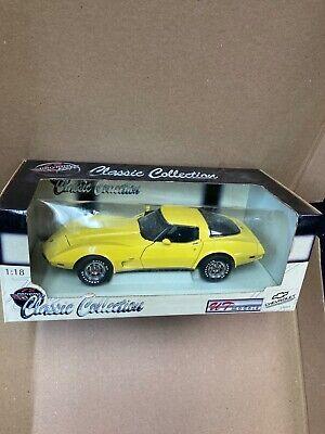 UT Classic Collection 1978 Corvette 1:18 in yellow