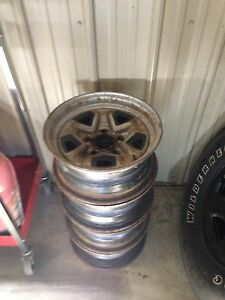 14 inch Chevy rally rims