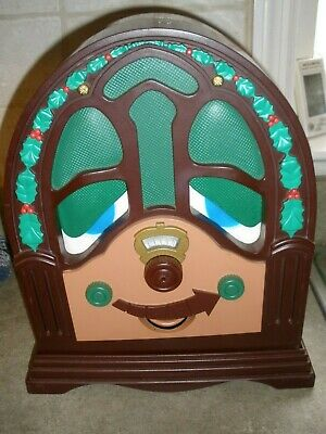 Vintage Decor TELCO CHRISTMAS RADIO Animated Talking Singing