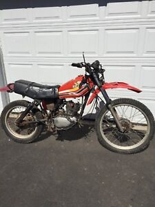 1980 Honda xl250 for parts