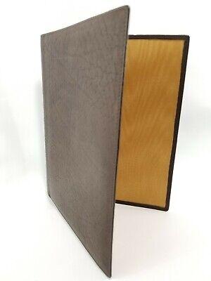 Stoll Strickmaschinen Leather File Folder 8.5 By 7