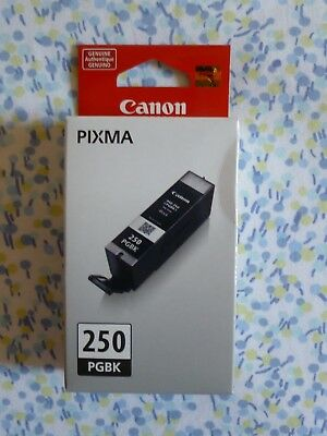 BRAND NEW and NEVER USED Genuine Original Canon PGI-250 Black PGBK ink v2