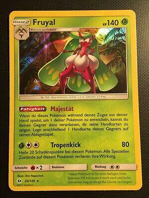 DE! Near Mint Holo Rare Pokemon! Fruyal Bund Der Gleichgesinnten 19//236