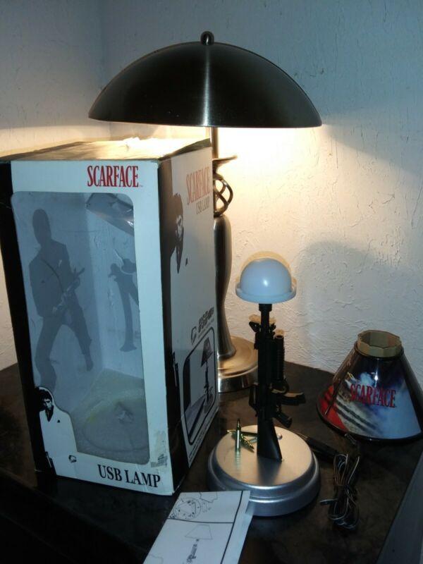 NIB Scarface Machine Gun Table Lamp