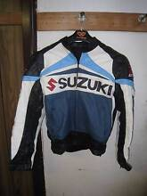 Suzuki Large Leather Jacket Glenfield Campbelltown Area Preview
