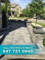Interlocking, driveways, paving. Call 647-721-0049