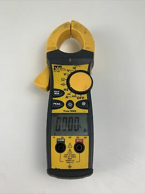 Ideal Industries 61-766 True Rms Clamp Meter Digital Multimeter No Leads