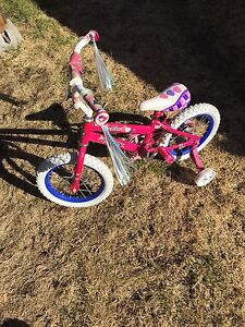 "14"" girls huffy bike"