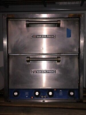 Bakers Pride Double Stack Pizza Oven Model P-44