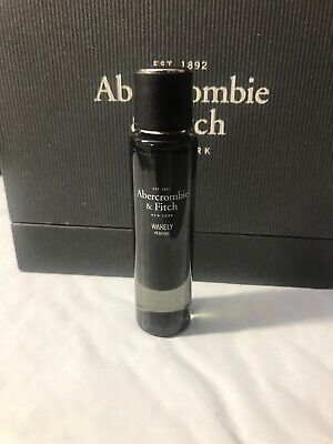 Abercrombie & Fitch Womens  Wakely Perfume Splash Mini Travel Size 0.17 Oz 5mL