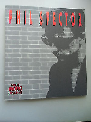 Phil Spector Back to Mono 1958-1969 (nur Heft keine CD / keine Schallplatte)