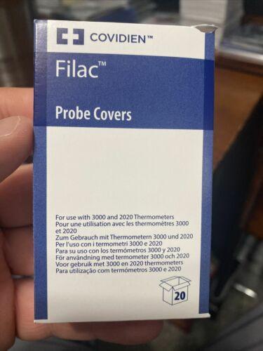 Box Of 20 Thermometer Probe Covers for Filac FasTemp 3000 AD 3000 EZ Covidien