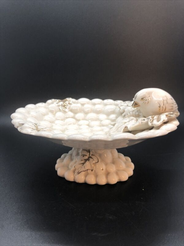 Vintage Bird Candy Trinket Dish