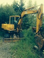 Excavations, road work, land clearing, gravel work