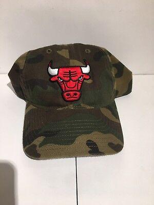 the best attitude 51052 f4e29 NBA Adidas Chicago Bulls Camo Hat