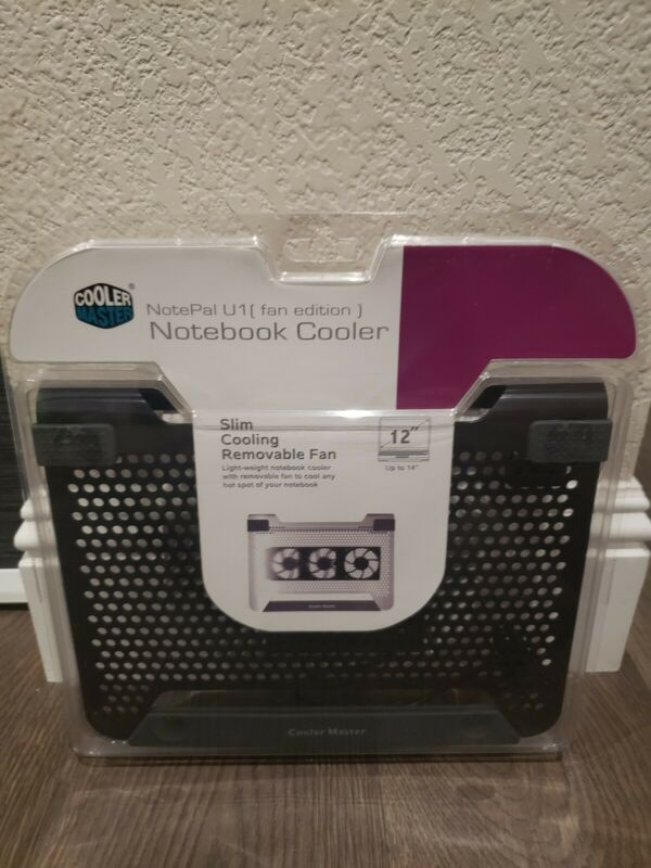 Cooler Master Notepal U1 Laptop / Notebook Cooling Pad, up to 14""
