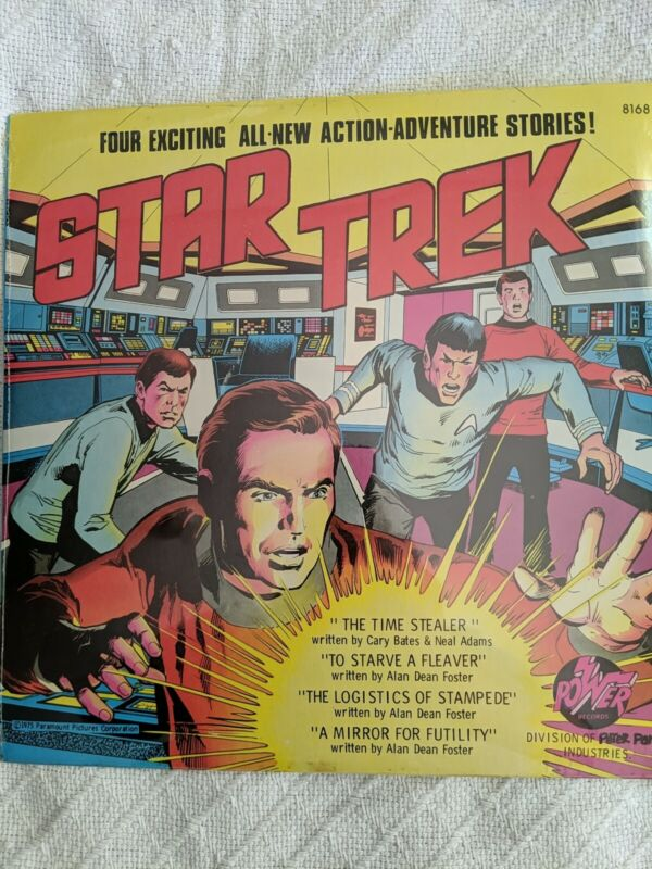 Star Trek Peter Pan record album 8168 four action adventure stories NEW