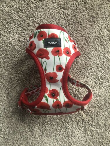 Poppy Flower Dog Harness Small, Never Used - $4.25
