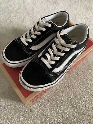 Vans Old Skool Classic Kids Size UK 13