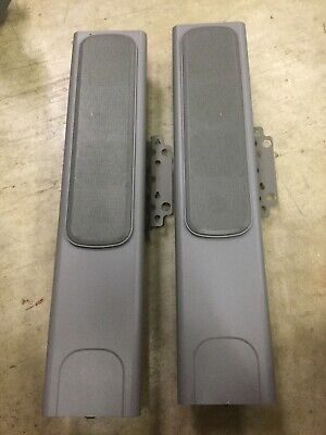 2 Smart Sba-l Sound Audio Speakers W Mounting Bracket And Cooling Fins