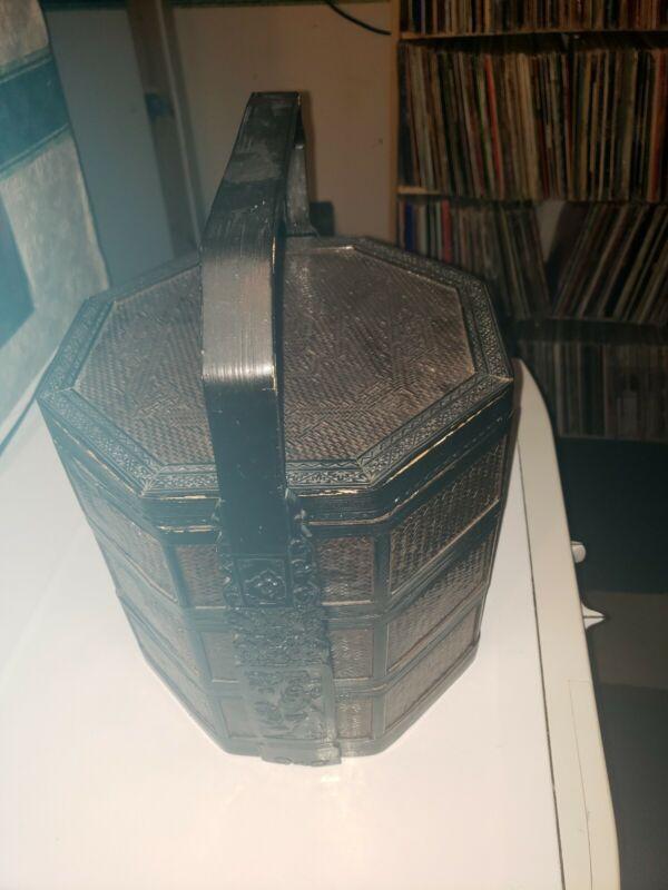 Vintage Chinese Wedding Basket Three Tier Kit