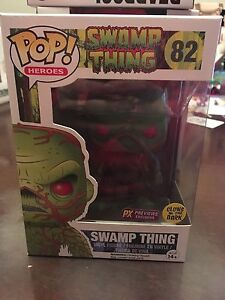 Swamp thing funko pop glow in dark px exclusive