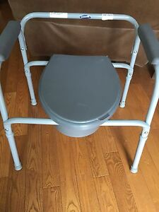 3 in 1 portable commode