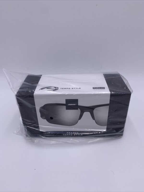 Bose Frames Tempo Sport Sunglasses with Open Ear Headphones Global Size Black A3