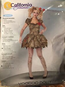 Halloween Costume - Voodoo Dolly - NIB (sz medium)