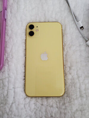 Apple iPhone 11 - 128GB - Yellow (T-Mobile) A2111 (CDMA + GSM)