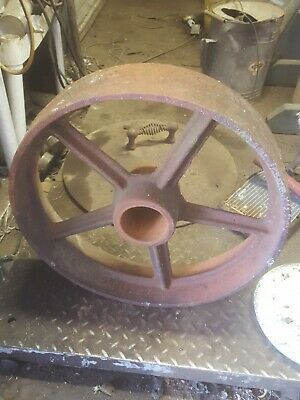 4 Cast Iron 18 Inches Wheels Hit Miss Engine
