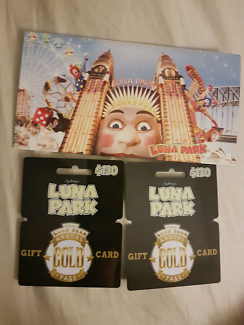 Luna Park Sydney Annual Gold Pass Gift Cards