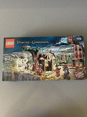 Lego Pirates of the Caribbean Cannibal Escape (4182) New In Box Sealed